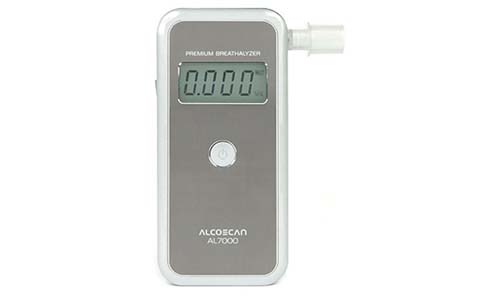 AlcoMate presents Professional Breathalyzer Premium AL7000 with PRISM Technology