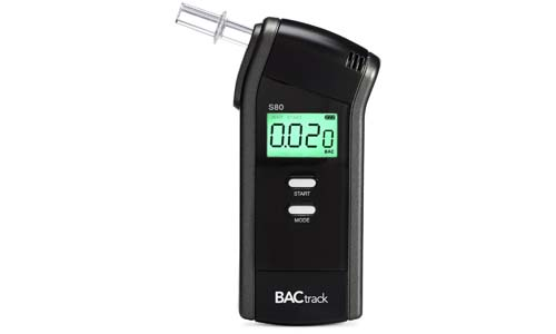 Wirecutter presents S80 BACtrack Professional Breathalyzer