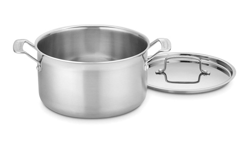 CUISINART presents MultiClad Pro 6-Quart Stainless Steel Sauce Pot MCP44-24N