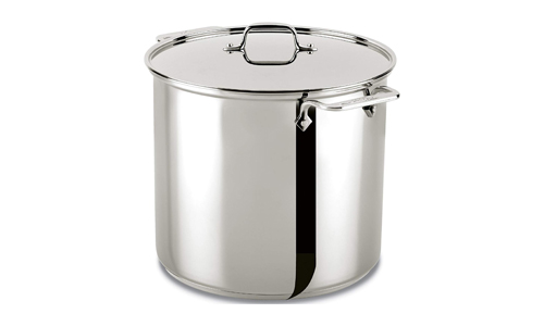ALL-CLAD presents 16-Quart Stainless Steel Stock Pot 59916, Silver