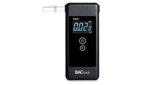 BACtrack presents BACTrack Trace Portable Breath Alcohol Tester Professional Breathalyzer