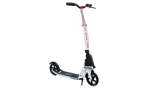 Globber Adult One Kick Folding Scooter (White)