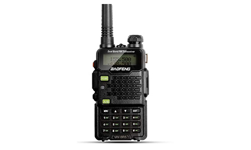 Baofeng Walkie Talkie UV-5R5 5W Dual-Band