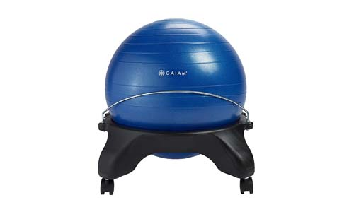 Gaiam Classic Backless Balance Ball Chair