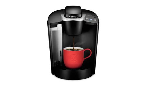 KEURIG presents Classic Coffee Maker Single Serve and K-Cup Pod, BLACK, K55/K