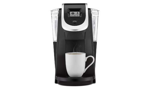 KEURIG presents K250 Single Serve and K-Cup Pod Strength Control Coffee Maker, BLACK