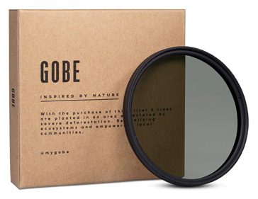 Gobe CPL 58mm Schott 16-Layer Multi-Coated Polarizer