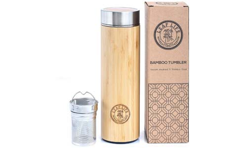 Original Bamboo Tumbler with Tea Infuser