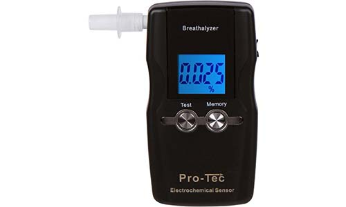 Pro-Tec presents Breathalyzer Professional Grade, FDA and DOT approved