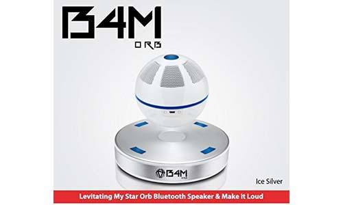 B4M ORB-Ice Silver Portable Wireless Bluetooth