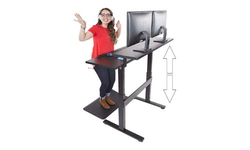 Stand Steady Dual Level Standing Desk