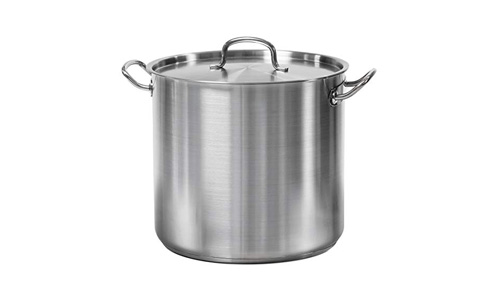 TRAMONTINA presents 24-Quarts Stainless Steel QT Covered Stock Pot 80117/581DS