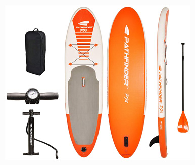 Pathfinder Inflatable SUP Stand Up Paddle Board