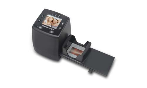 DIGITS NOW! 135 Film Negative Scanner High-Resolution Slide Viewer, Convert 35mm Film & Slide to Digital JPEG Save into SD Card, with Slide Mounts Feeder No Computer/Software Required.
