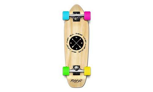 The Wander Series: Natural Complete Longboard skateboards - mini and micro cruisers