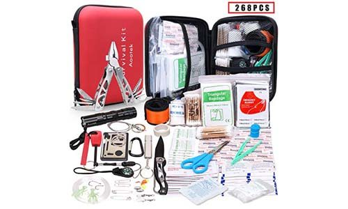 Aootek Upgraded first aid survival Kit.