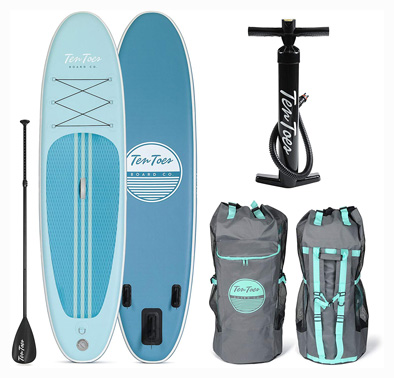 Retrospect Weekender 10' Inflatable Stand Up Paddle-board Bundle