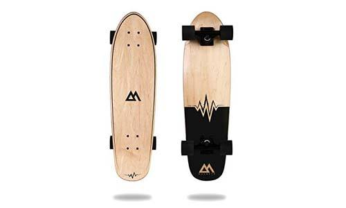 Magneto Mini Cruiser Skateboard Cruiser | Short Board | Canadian Maple Deck