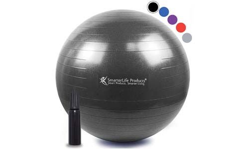 Exercise Ball for Yoga, Balance, Stability from SmarterLife