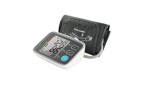 Fam-health Automatic Digital Upper Arm Blood Pressure Monitor Clinically Validated Sphygmomanometer