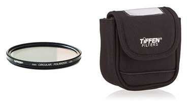 Tiffen 82mm Circular Polarizer with Large Pouch