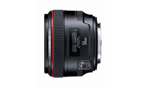 Canon EF 50mm f / 1.2