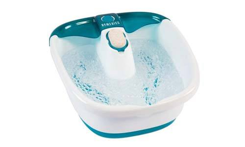 HoMedics Heated Bubble Mate Foot Spa
