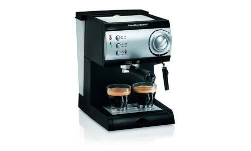 The Hamilton Beach Espresso Machine