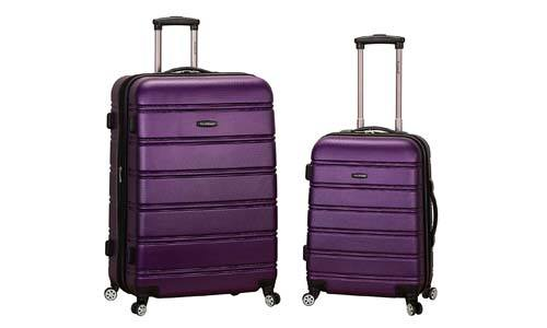 Rockland Luggage 20-inch 28-inch 2 Piece Expandable Spinner Set