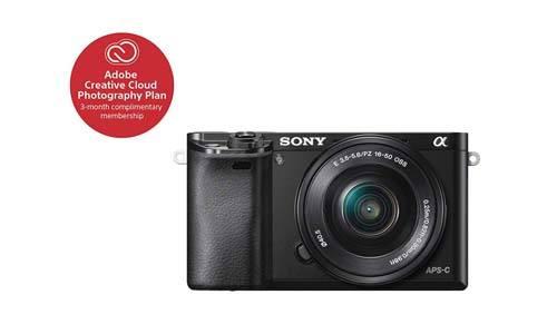 Sony Alpha a6000 Mirrorless Digitial Camera