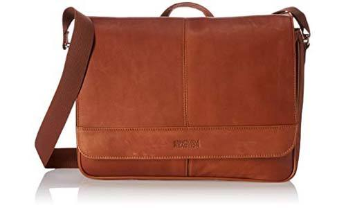 Kenneth Cole Colombian Leather Messenger Bag