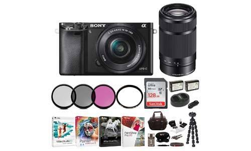 Sony Alpha a6000 w/16-50mm Mirrorless Camera