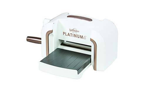 Spellbinders PE-100 Platinum 6.0 Die Cutting & Embossing Machine - 6