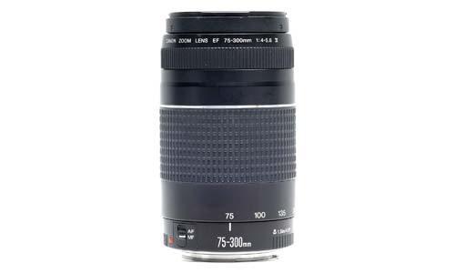 Canon EF 75-300 mm f / 4-5.6 III Telephoto