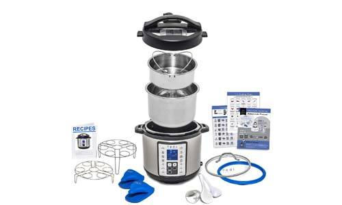 9-in-1 Instant Programmable Pressure Cooker