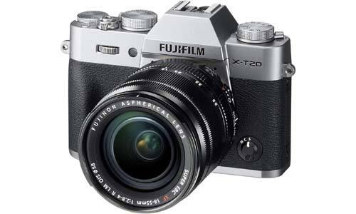 Fujifilm X-T20 w/XF18-55mmF2.8-4.0 Mirrorless Digital Camera