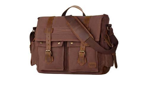 Wowbox 17.3 Inch Men's Messenger Bag