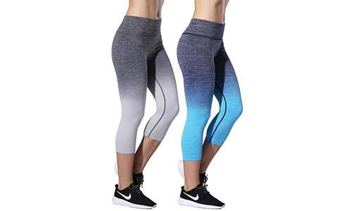 RUNNING GIRL Ombre Yoga Pants