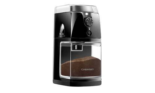 Chefman Coffee Grinder Electric Burr-Freshly 8oz Beans