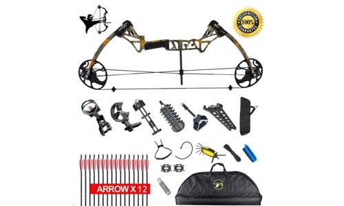 XQMART Compound Bow Package