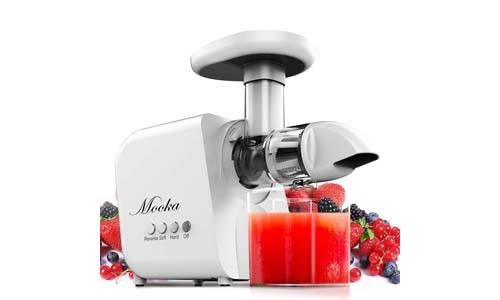 Mooka Juicer, Slow Masticating Juicer Extractor