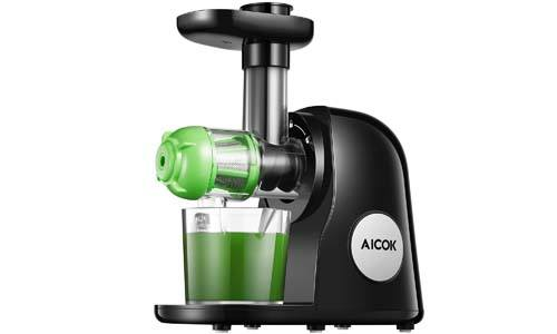 Juicer Machines, Aicok Slow Masticating Juicer