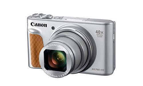 Canon PowerShot SX740 digital camera with 40x