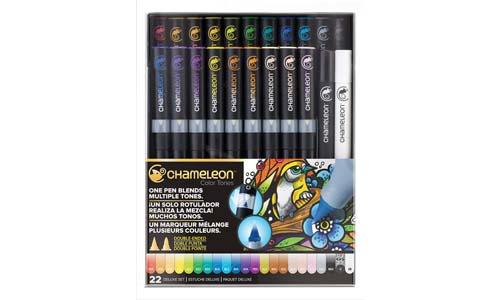 Chameleon Art Products, 22-Pen Deluxe Set