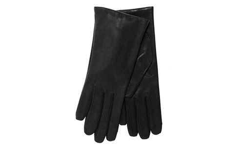 Fratelli Orsini Black Women's Leather Gloves