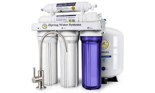 iSpring 5-Stage Prestige Top Purity Under Sink Reverse Osmosis Drinking Water Filter System
