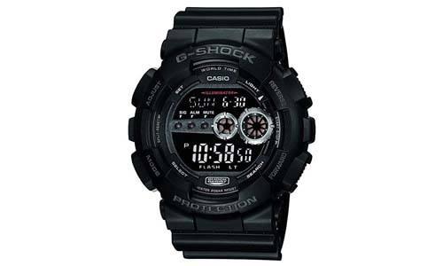 Casio Men's GD100-1BCR G-Shock Black Watch