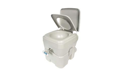 Camco Standard Portable Travel Toilet, 5.3 Gallon