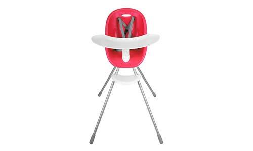 Phil&Teds Poppy Highchair - Cranberry
