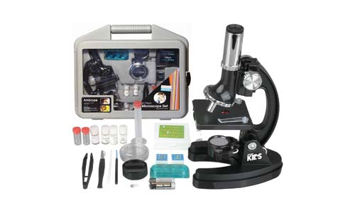 AMSCOPE-KIDS M30-ABS-KT51 120x-1200x 6-Powers Microscope